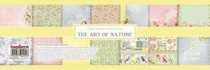 """Дизайнерски комплект хартии """"Изкуството на природата"""", 30.5 х 30.5"""