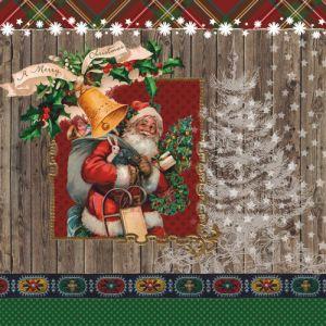 """Салфетки """"Дядо Коледа"""", 20бр."""