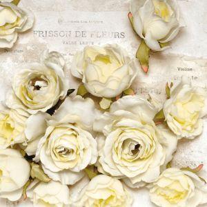 """Салфеткa """"Трепетът на цветята"""", 1бр."""