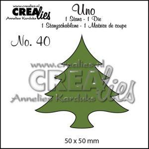 """Щанца за изрязване №40 - """"Коледна елха"""""""