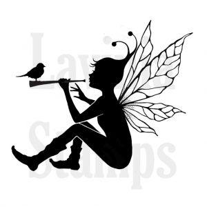 """Прозрачен печат """"Небесна фея"""""""