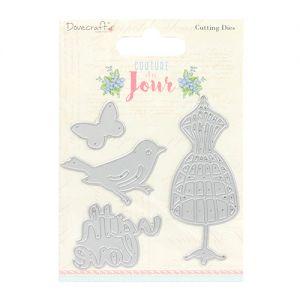 """Щанци за изрязване """"Couture du Jour"""", Dovecraft"""