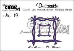 Декоративна решетка 19