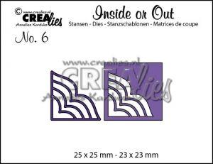 Комплект щанци за изрязване на декоративни ъгълчета №6