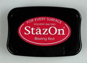"StazOn мастило ""Blazing Red"""