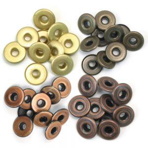 Айлети - широки, топли метални цветове, 40бр.