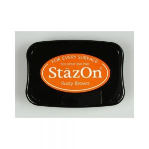 """StazOn мастило """"Rusty Brown"""""""