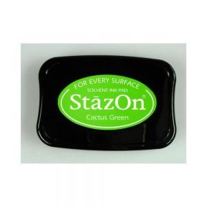 """StazOn мастило """"Cactus Green"""""""