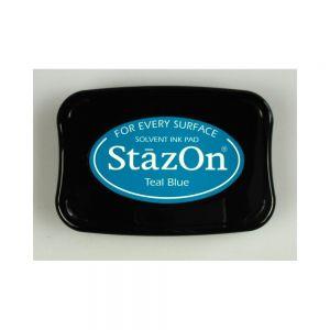 """StazOn мастило """"Teal Blue"""" - 8см х 5см"""