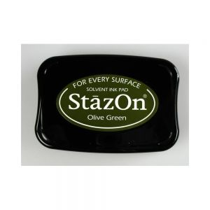 "StazOn мастило ""Olive Green"""