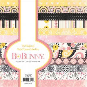 """Дизайнерско блокче хартии """"Цветя"""", 36л., 15см, Bo Bunny"""