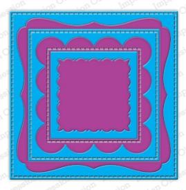 """Щанца за изрязване """"Рамки в квадратни форми"""", Impression Obsession"""