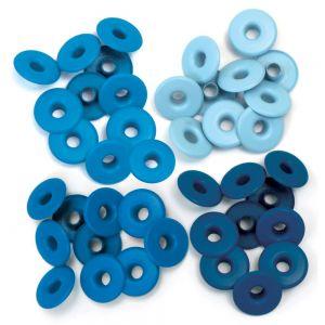Айлети - широки, сини цветове, 60бр.