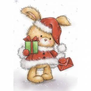 "Прозрачен печат ""Christmas Bunny"", WRS"