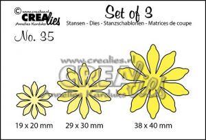 Щанци за изрязване на цветя - №35, Crealies