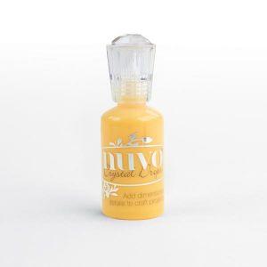 """Кристални капки """"Dandelion yellow"""", Nuvo Crystal Drops Gloss"""
