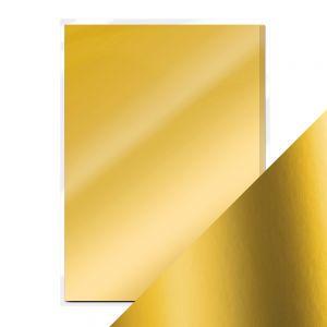 "Огледален картон ""Gold Pearl"", 5л., A4, 250гр."