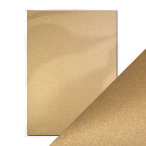 """Перлен картон """"Majestic Gold"""", 5л., А4, 250гр."""