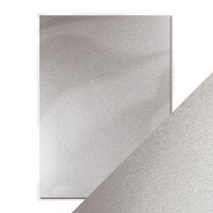 "Перлен картон ""Luna Silver"", 5л., А4, 250гр."