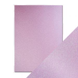 "Перлен картон ""Gleaming Lilac"", 5л., А4, 250гр."