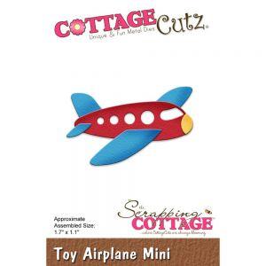 """Щанци за изрязване """"Играчка - самолет"""", Cottage Cutz"""
