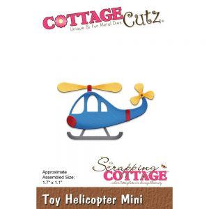 """Щанци за изрязване """"Играчка - хеликоптер"""", Cottage Cutz"""