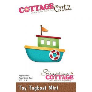 """Щанци за изрязване """"Играчка - влекач"""", Cottage Cutz"""