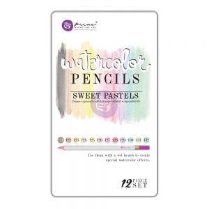 """Акварелни моливи """"Пастелни тонове"""", 12бр."""