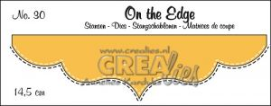Щанца за изрязване на бордюр - вариант 30, Crealies