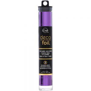 "Фолио ""Purple"", 5л., 15см х 30.5см, Deco Foil"