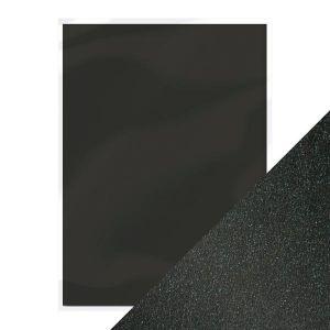 "Перлен картон ""Onyx Black"", 5л., А4, 250гр."