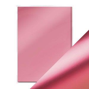 """Огледален картон """"Pink Chiffon"""", 5л., A4, 250гр."""