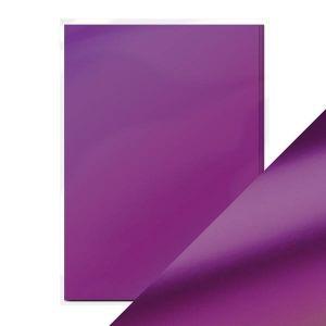 "Огледален картон ""Purple Mist Satin"", 5л., A4, 250гр."