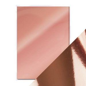"Огледален картон ""Rose Platinum"", 5л., A4, 250гр."