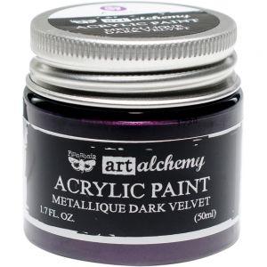 "Акрилна боя металик "" Dark Velvet"", Finnabair"