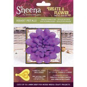 """Комплект щанци за изрязване """"Heart Petals"""", Crafter's Companion"""