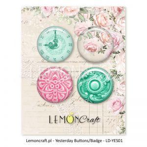 """Скрапбукинг копчета """"Вчера"""", 4бр., Lemoncraft"""