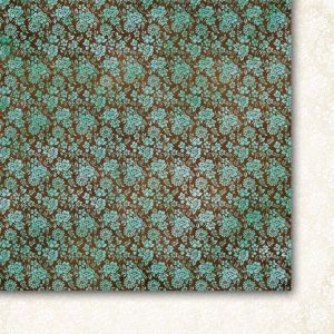 "Дизайнерски лист хартия ""Красив ум"" - 1, 30.5х30.5см, GP"
