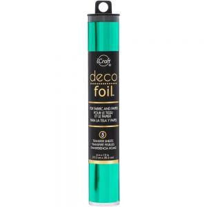 "Фолио ""Jade"", 5л., 15см х 30.5см, Deco Foil"