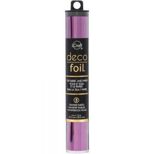 """Фолио """"Plum"""", 5л., 15см х 30.5см, Deco Foil"""