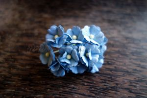 Цветя, сини, 20мм