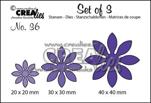 Щанци за изрязване на цветя - №36, Crealies