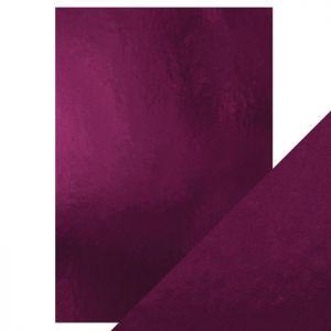 "Огледален картон ""Midnight Plum"", 5л., A4, 250гр."