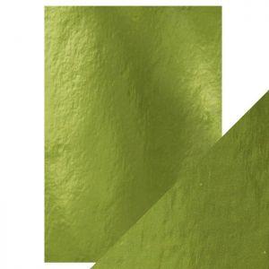 """Огледален картон """"Holly Green"""", 5л., A4, 250гр."""