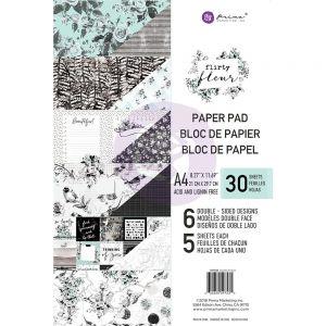 "Дизайнерски блок хартии ""Flirty Fleur"", А4, Prima Marketing"