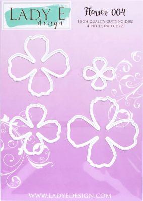 """Щанци за изрязване """"Flower 004"""", Lady E Design"""