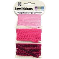 Комплект панделки в цикламен цвят, WRMK