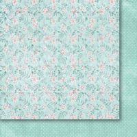 """Дизайнерски лист хартия """"Heart's Tingle"""" - 4, 30.5х30.5см, Paper Heaven"""