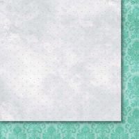 """Дизайнерски лист хартия """"Heart's Tingle"""" - 6, 30.5х30.5см, Paper Heaven"""