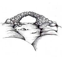 """Прозрачен печат """"Fairy Bridge"""", Lavinia Stamps"""